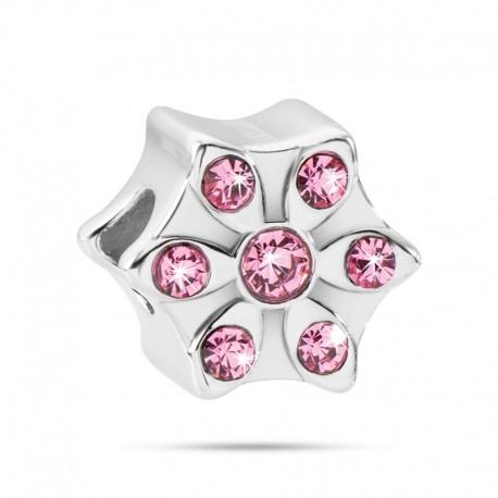 MORELLATO Drops Flour w/ Pink Crystals