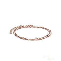 Rosefield Pulseira Downtown Chic Dupla RoseGold