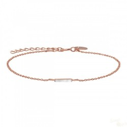 Rosefield Pulseira Downtown Chic F RoseGold