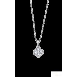Colar Lotus Silver flor Prata 925