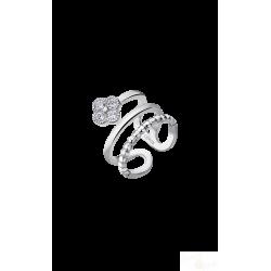 Anel Lotus Silver Flor Prata 925