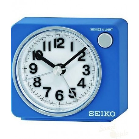 Despertador Seiko Clocks Azul