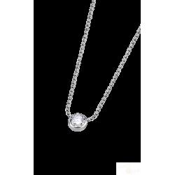 Colar Lotus Silver Brilhante Prata 925