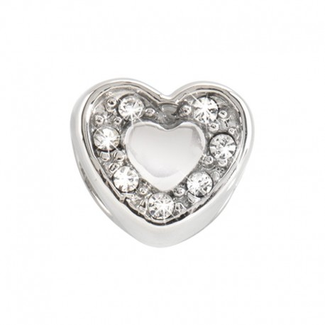 MORELLATO Drops Heart w/ Crystals