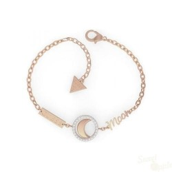 Pulseira Guess Seven Planets SS Rose Gold Moon