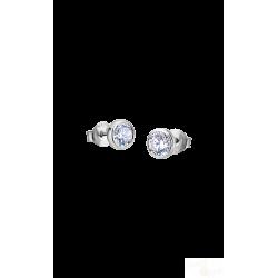 Brincos Lotus Silver Brilhante Prata 925