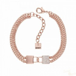 Pulseira DKNY The City Street Chain Lock RG