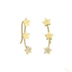 Brincos MrWonderful Sparkling Dourados