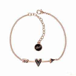 Pulseira Karl Lagerfeld Ikonik Hearts and Arrows RG