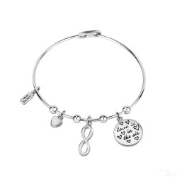 Pulseira La Petite Story Bangle Infinite Love S