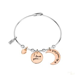Pulseira La Petite Story Bangle Moon SRG