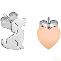 Brincos La Petite Story Dog and Kitty Dog SRG