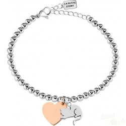 Pulseira La Petite Story Dog and Kitty Cat Sleeping SRG