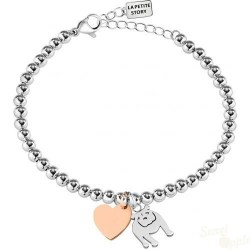 Pulseira La Petite Story Dog and Kitty Bulldog SRG