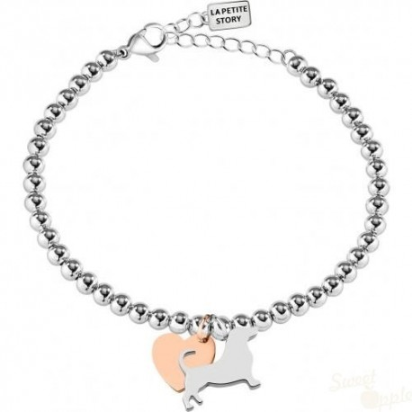 Pulseira La Petite Story Dog and Kitty Tiny Dog SRG