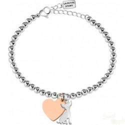 Pulseira La Petite Story Dog and Kitty Chihuahua SRG