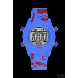 Relógio WatxAndCo Digital Free Azul S