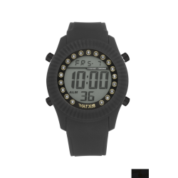 Relógio WatxAndCo Digital Pearl Preto M