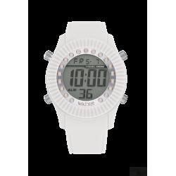 Relógio WatxAndCo Digital Pearl Prateado M