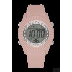 Relógio WatxAndCo Digital Pearl Rosa Claro M