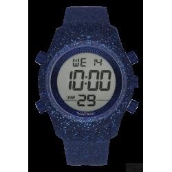 Relógio WatxAndCo Digital Byz Aul Glitter L