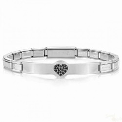 Pulseira Nomination Trendsetter SS Black Heart
