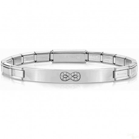 Pulseira Nomination Trendsetter SS Silver Infinit Engraved