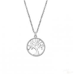 Colar Lotus Silver Arvore da Vida Prata 925