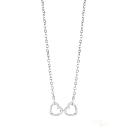 Colar Guess Hearted Chain SS