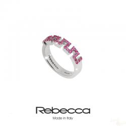 Anel Rebecca Coleção Dubai em Prata 925