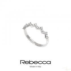 Anel Rebecca Coleção Dubai em Prata 925 Z