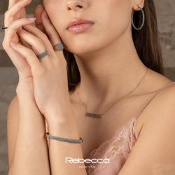Brincos Argola Rebecca Coleção Jolie em Prata 925