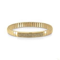 Pulseira Nomination Extension Glitter Dourado