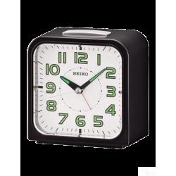 Relógio Despertador Seiko Preto e Branco