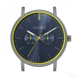 Relógio WatxAndCo 44 Analogic Sparkling Blue Metal Collection