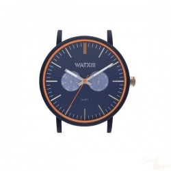 Relógio WatxAndCo 44 Analogic Soft Blue Metal Collection