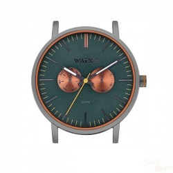 Relógio WatxAndCo 44 Analogic Marble Green Metal Collection