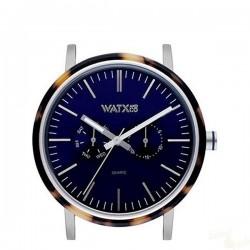 Relógio WatxAndCo 44 Analogic Marble Blue Metal Collection