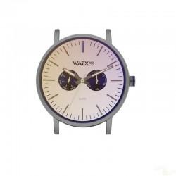 Relógio WatxAndCo 44 Analogic Siren Tope Metal Collection