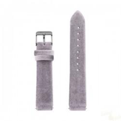 Bracelete WatxAndCo 38 Velvet Lilas Metal Collection
