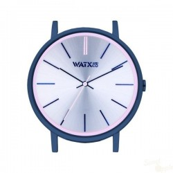 Relógio WatxAndCo 38 Analogic Siren Silver Metal Collection