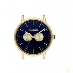 Relógio WatxAndCo 44 Analogic Byz Azul Metal Collection