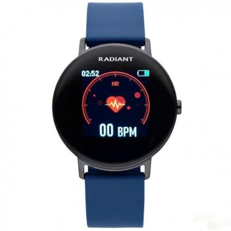 Relógio Radiant Wall Street Azul 42mm