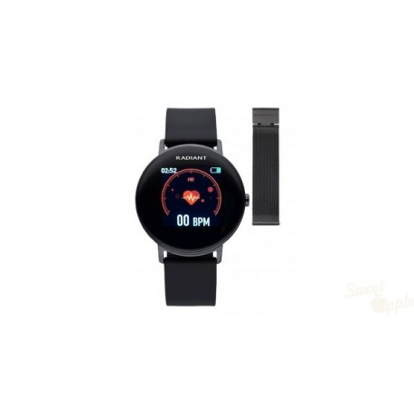 Relógio Radiant Wall Street Preto 42mm