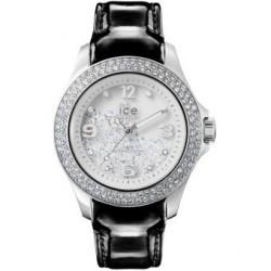 Relógio Ice-Crystal Prateado