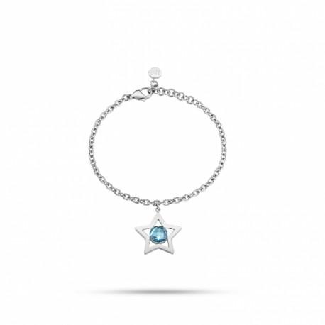 Pulseira Morellato Cosmo Cristal Azul