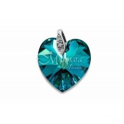 Pendente Marmara coração Cristal Swarovski