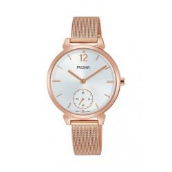 Pulsar Casual Relógio Rose Gold