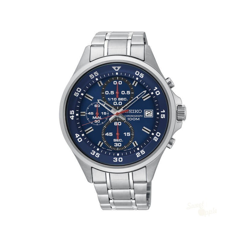 8bfe13566c9 Novo Relógio Seiko Neo Sports Mostrador Azul - Relojoaria Sweet Apple