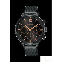 Relógio Pulsar Attitude Cronógrafo Ladies Black